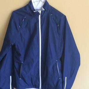 Blue danskin jacket